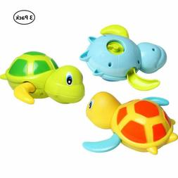 Dmeixs Baby Bath Toy Wind Up Bath Toys Turtle Bathtub Toys F