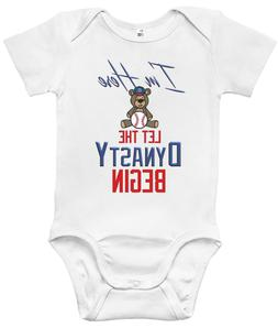 Baby Bodysuit - I'm Here Let The Dynasty Begin Cute Cubs Bab