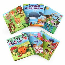 Baby Cloth Books Early Educational Toy,Soft Books for Newbor