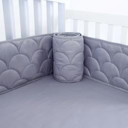 Baby Crib Bumper Pads for Standard Cribs with Star Pattern G