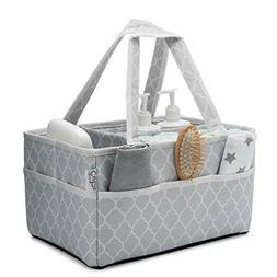 Baby Diaper Caddy Large Organizer Bag Portable Basket for Ca
