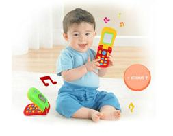 Baby Kid Musical Mobile Phone for Toddler Sound Hearing Educ