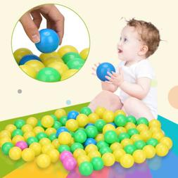 Baby Kids Plastic Colorful Play Balls For Ball Pit Ocean Swi
