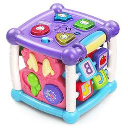 Baby Musical Activity Cube Shape Sorter Toy Toddler Play Cen