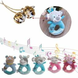 Baby Rattles Mobiles Cartoon Toys For Baby Animal Hand Bell