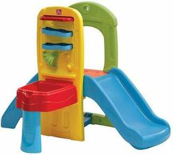BABY SLIDE OUTDOOR CLIMBER FOR KIDS INFANT INDOOR PLAYSET AC