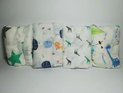 Baby Swaddle Blanket 70% Bamboo 30% Cotton Muslin for Girls