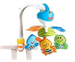 Baby Take Along Mobile, Animal Friends, Blue Toy for Kids