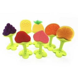 Baby Teething Toys for Newborn Infants 6-Pack Freezer Safe B