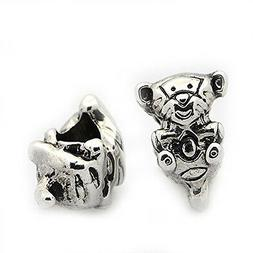 Baby Tiger Charm European Bead Compatible for Most European