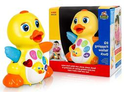 CifToys Dancing Musical Duck Toy for 1 Year Old Boys & Girls