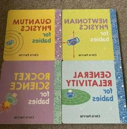 Baby University Four-Book Set by Chris Ferrie BOARD BOOK 201