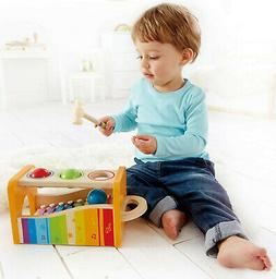 Baby Wooden Hammering&Pounding Music Educational Toy+Xylopho