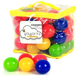 Ball Pit Balls Plastic Playballs for Kids Toddlers Babies -