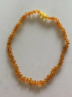 Baltic Amber Necklace for Babies, Baby Teeth Pain, Amber Goo