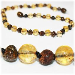 The Art of Cure Baltic Amber Teething Necklace for Baby  - A