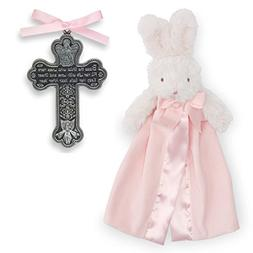 Baptism Gifts for Girl | Pewter Bless The Child Crib Cross a