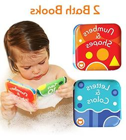 Baby Bath Books, Pack of 2 by Baby Bibi. Alphabet & Numbers