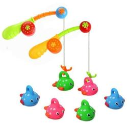Bath Toys for Toddlers Kids Bathtub Fun Fishing Game with Cu