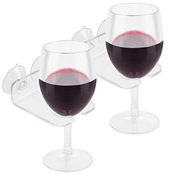 House Ur Home Bathtub & Shower Relax Bath Wine Glass Holder.