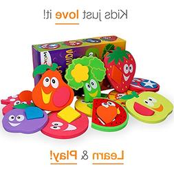 Bath Toys for Kids - Bathtub Toys for Toddlers - Baby Puzzle