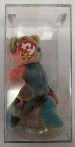BEANIE BABIES Authenticated Garcia Cool Colors - See Picture