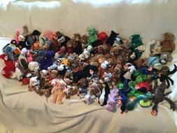 Ty Beanie Babies. New.  1990's-with Hang Tags! Randomized