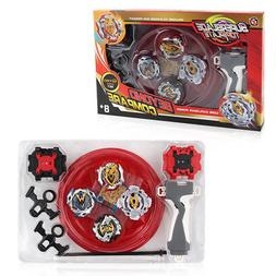 Beyblade 4 in 1 Metal Fusion Spinning Top for Kids/baby Chri