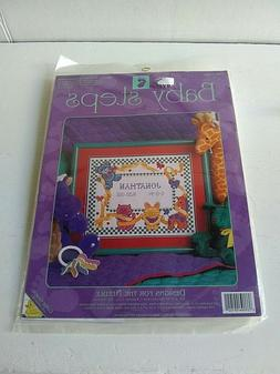 Baby Steps Birth Announcement Counted Cross Stitch Kit #9102