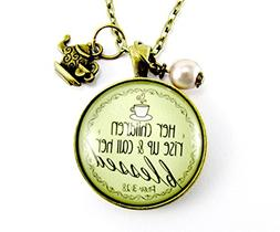 """24"""" Blessed Mother Necklace Her Children Rise Up Christian M"""