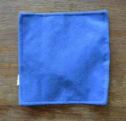 Baby Paper - Blue - Baby Toy Crinkle Cloth by Baby Paper