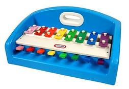 Little Tikes Blue Tap-A-Tune Piano XYLOPHONE with carrying h