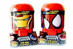 Bonka Zonks. Bundlle set of Iron Man & Spider Man