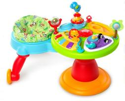 Bright Starts Zippity Zoo 3 in 1 Around We Go Baby Activity