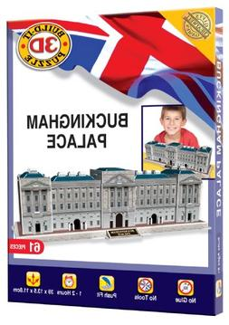 Cheatwell Games Buckingham Palace Build Your Own Giant 3d Ki