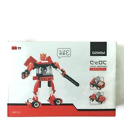 Building Blocks - RedRobot and Cars