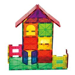 Mag-Genius building Magnet Tiles Clear Colours 3D Brain Buil