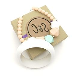 S&C Designer Silicone Teething Relief Bracelet & Necklace fo