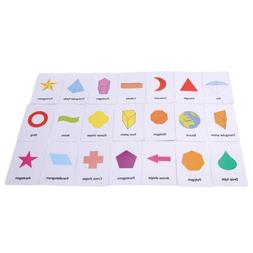 Card Baby Toys For Children Enlightenment Cognitive Early Le