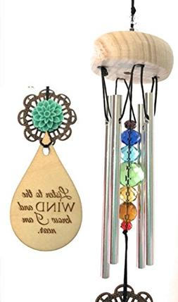 Child Loss First Breath Wind Chime Memorial Best gift Gift A