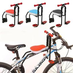 Child Seat for Bike Front Mount Quick Dismounting Safety Sea