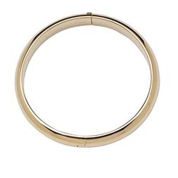Children's 14K Gold-Plated Classic Baby Bangle Bracelet