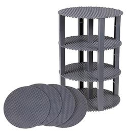 """Classic Stackable 8"""" Circle Baseplate Brik Tower by Strictly"""