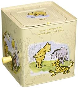 """Classic Pooh Jack-in-The-Box, 6.5"""""""
