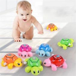 Infant Small Turtles For Baby Kids Crawling Wind Up Toy Educ