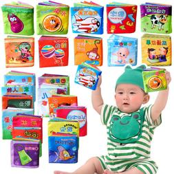 Cloth Books Baby My First Non-Toxic Soft Clothing Book Set E