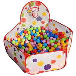 Collapsible Children Toddlers Ball Pit Tent Sea Ball Pool To