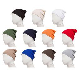Combed Cotton Beanie for Newborns and Infant Girl and Boy Ba