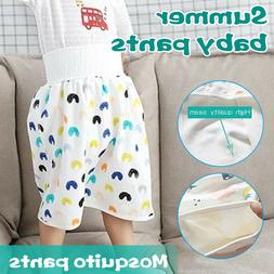 Comfy Childrens Diaper Skirt Waterproof and Absorbent Shorts