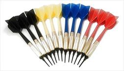GLD Commercial Soft Tip Bar Darts-Set of 12 with 250 Dart Ti